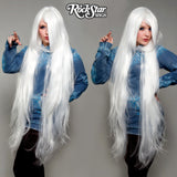 "Cosplay Wigs USA™ <br> Straight 120cm/47"" - White -00233"