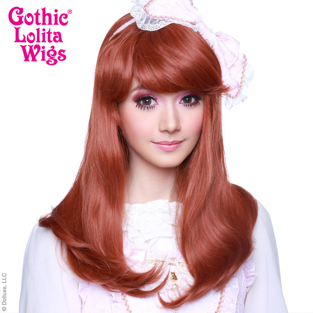 Gothic Lolita Wigs® <br> Straight Classic™ Collection - Auburn Mix -00028