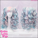 Gothic Lolita Wigs® Baby Dollight™ Collection - Pink & Blue Blend