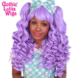 Gothic Lolita Wigs® <br> Baby Dollight™ Collection - 00010  Lavender Mix