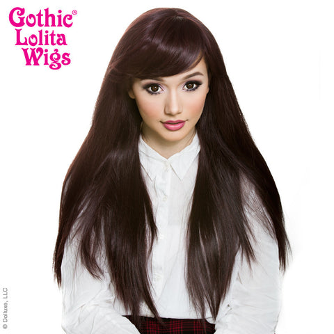 Gothic Lolita Wigs®  Bella™ Collection - Black Mahogany Burgundy mix -00426