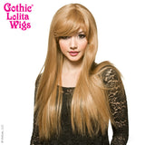 Gothic Lolita Wigs®  Bella™ Collection -  Honey Milk Tea Mix -00422