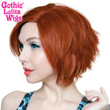 Lace Front Boy Cut- Dark Cinnamon -00802