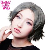 Lace Front Boy Cut- Dark Grey Pewter - 00805