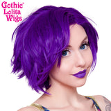 Lace Front Boy Cut- Purple Grape Mix -00810