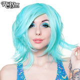 Cosplay Wigs USA™ <br> Boy Cut Shag - Baby Blue -00284