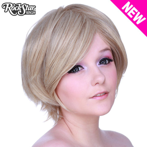 Cosplay Wigs USA™ <br> Boy Cut Short - Dark Blonde -00262