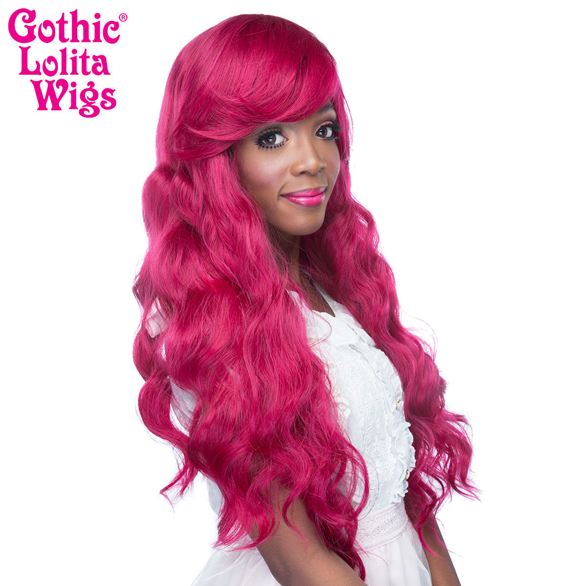 Gothic Lolita Wigs® <br> Classic Wavy Lolita™ Collection - Cranberry -00465