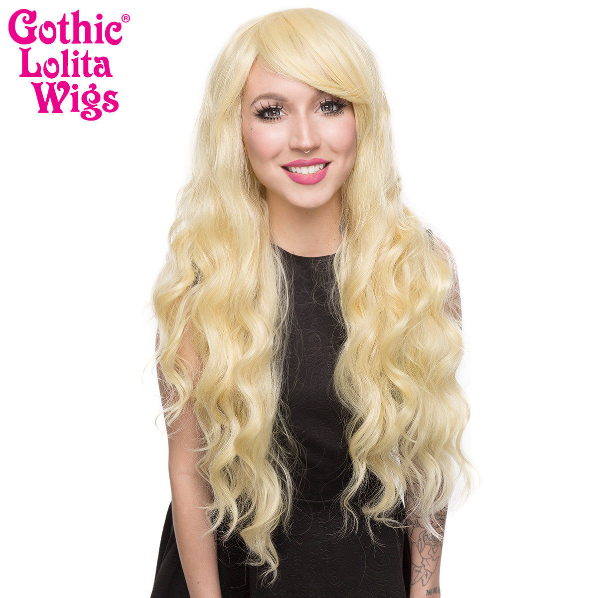 Gothic Lolita Wigs® <br> Classic Wavy Lolita™ Collection - Light Blonde Mix -00042