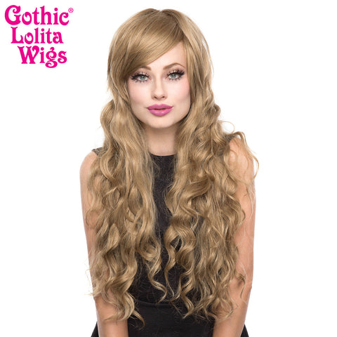 Gothic Lolita Wigs® <br> Classic Wavy Lolita™ Collection - Milk Tea Mix -00043