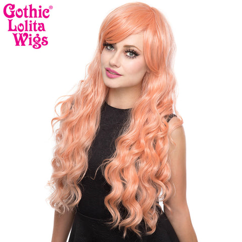 Gothic Lolita Wigs® <br> Classic Wavy Lolita™ Collection - Peachy Pink -00045