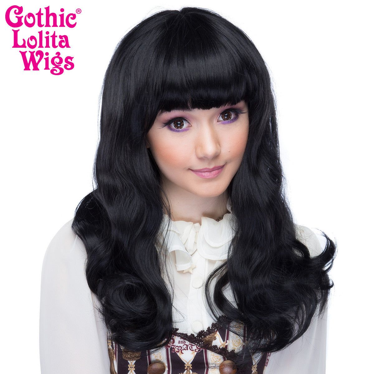 Gothic Lolita Wigs® <br> Straight Classic™ Collection - Black Mix -00030