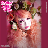 Gothic Lolita Wigs Best Shironuri Model pixie_late Mermaid Peachy Pink