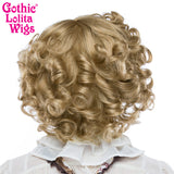 Gothic Lolita Wigs® <br> Curly Bob™ - 00021  Milk Tea Mix