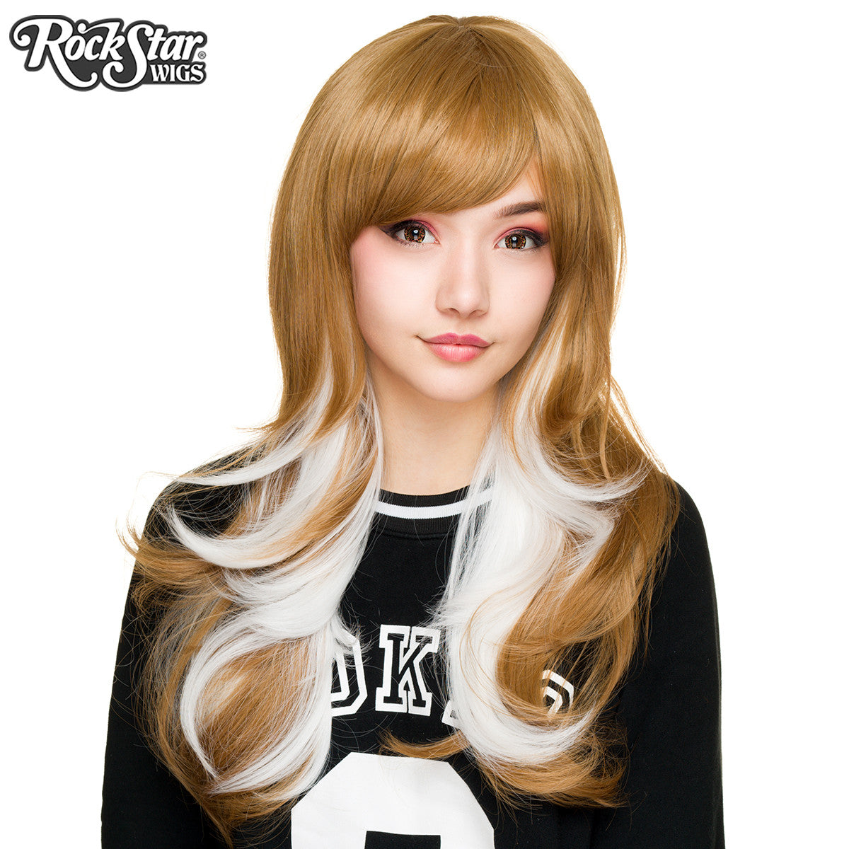 RockStar Wigs® <br> Downtown Girl™ Collection - Light Brown & White- 00154