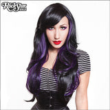 RockStar Wigs® <br> Downtown Girl™ Collection - Black & Violet- 00367