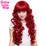 Gothic Lolita Wigs® <br> Duchess Elodie™ Collection - Crimson Red -00054