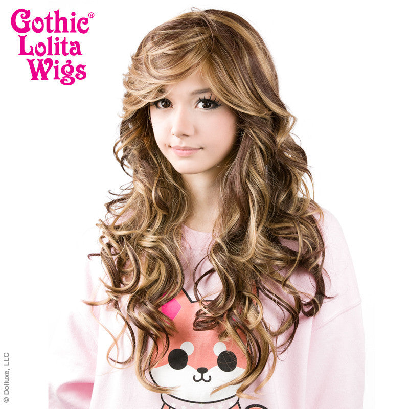 Gothic Lolita Wigs® <br> Duplicity™ Collection - Choco-Latte -00413