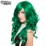 RockStar Wigs® <br> Farrah™ Collection - Emerald Jade Green- 00454