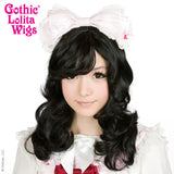 Gothic Lolita Wigs® <br>Girly Girl Collection - Black -00420