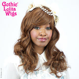 Gothic Lolita Wigs® <br>Girly Girl Collection - Golden Chestnut Brown Mix -00417