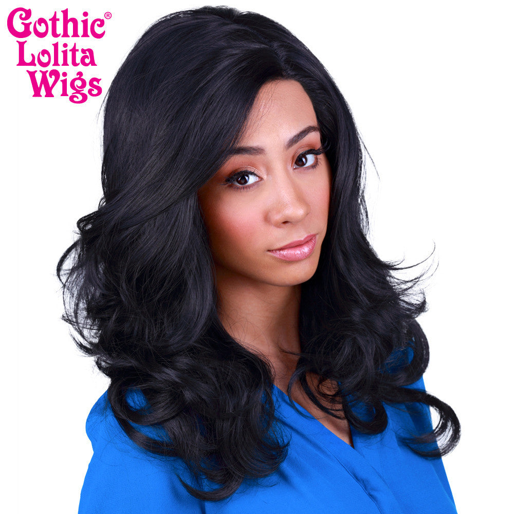 Lace Front Glamour Gal - Black -00568
