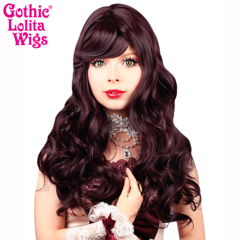 Gothic Lolita Wigs® <br> Heartbreaker Collection - Black Mahogany Burgundy Mix -00065