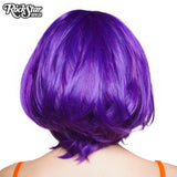 "RockStar Wigs® <br> Hologram 12"" - Purple Grape Mix - 00664"