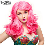 "RockStar Wigs® <br> Hologram 22"" - Atomic Hot Pink - 00633"