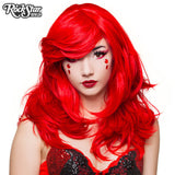 "RockStar Wigs® <br> Hologram 22"" - Jem Red - 00640"