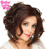 Lace Front Loose Curls Bob - Black Rose - 00811