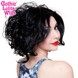 Lace Front Loose Curls Bob - Jem Black - 00767