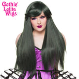 Gothic Lolita Wigs®  Bella™ Collection - Black Jade - 00678