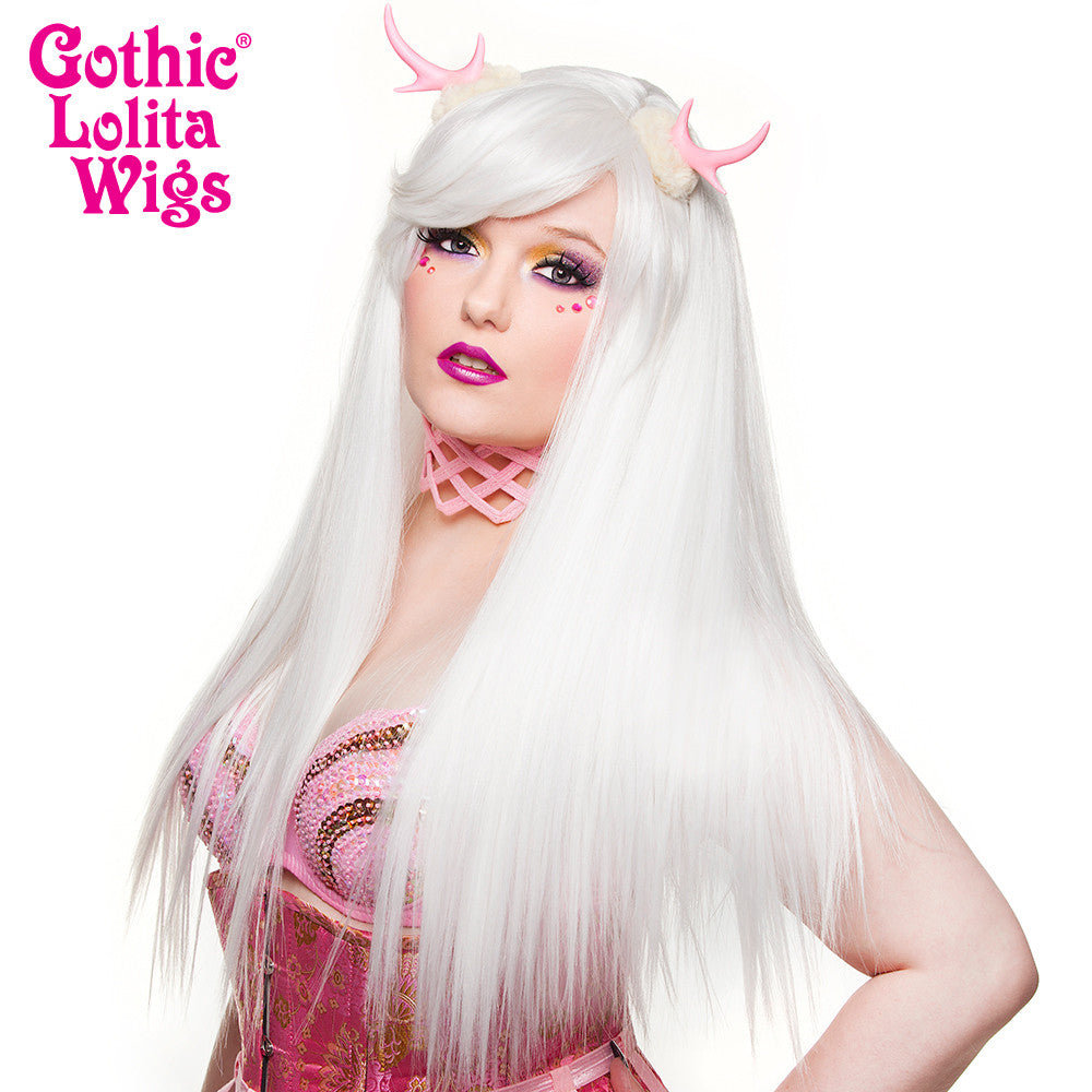 Gothic Lolita Wigs®  Bella™ Collection - White - 00686