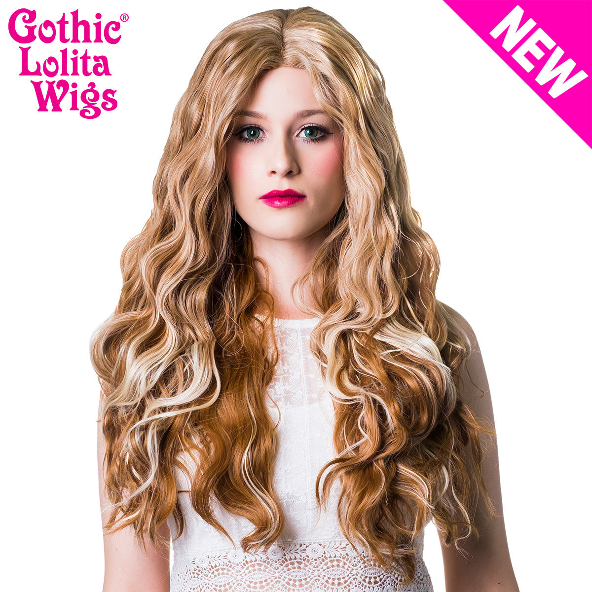 Lace Front Malibu - Dark Blonde Mix -00726