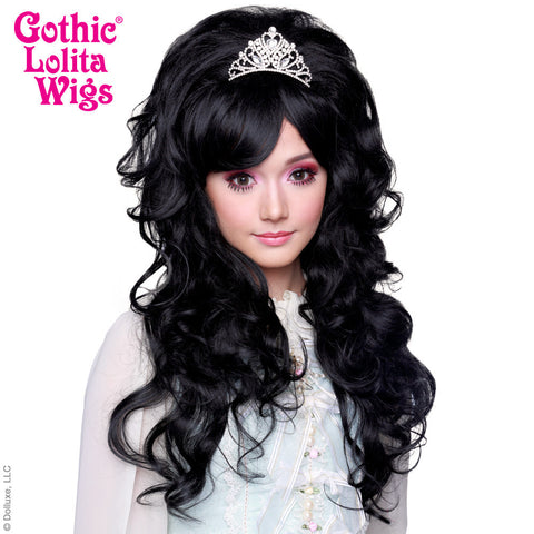 Gothic Lolita Wigs® <br> Countess™ Collection - NOIR (Black Mix) -00148