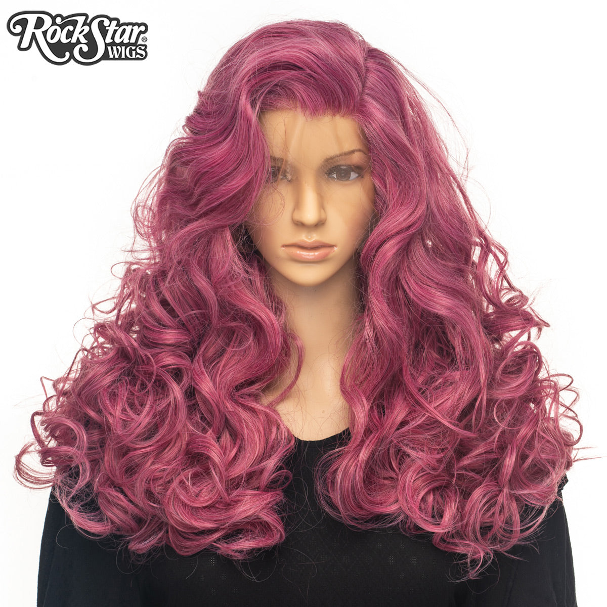 Lace Front Peek-A-Boo - Rose Plum-00584