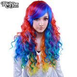 RockStar Wigs® <br> Rainbow Rock™ Collection - Hair Prism 1-00218
