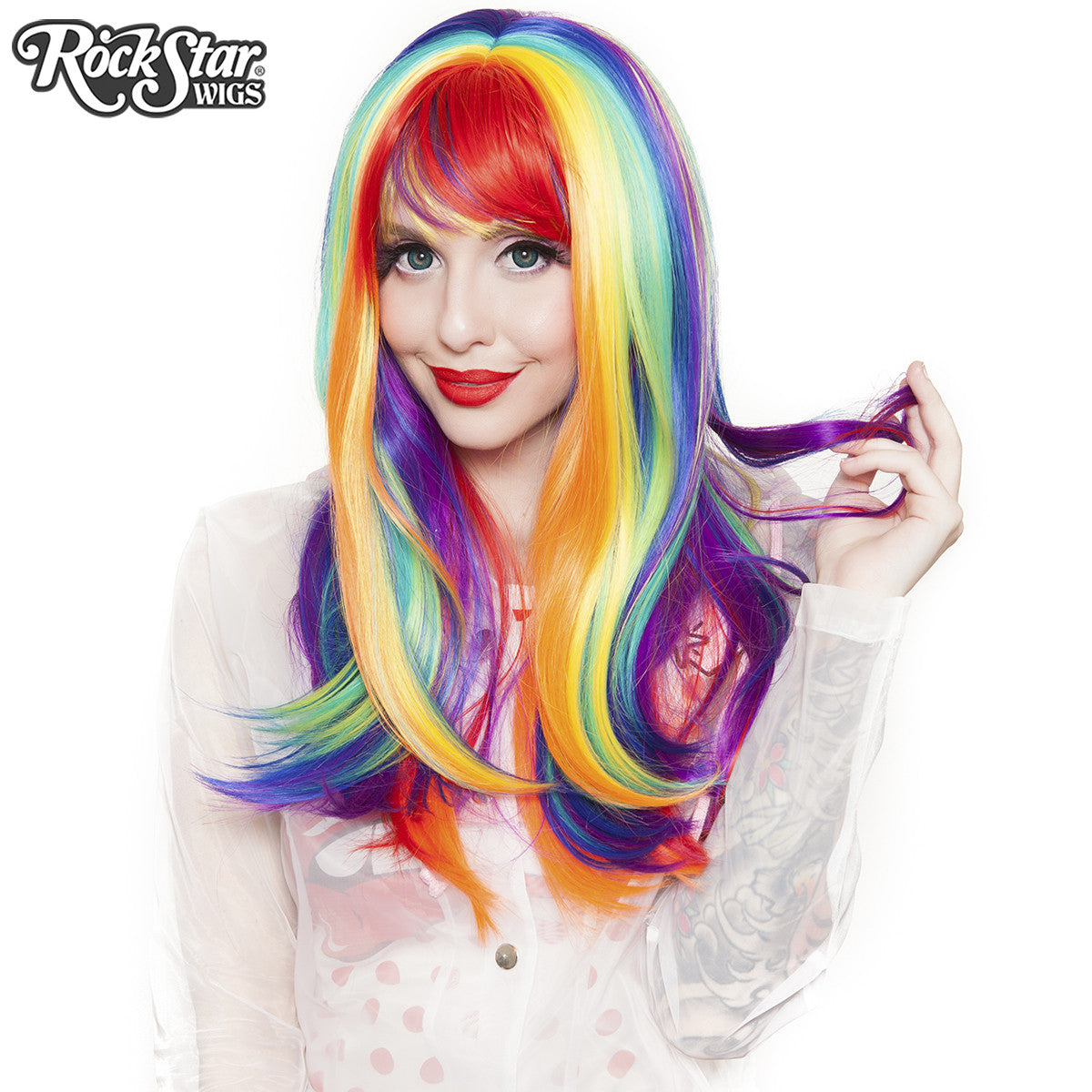 RockStar Wigs® <br> Rainbow Rock™ Collection - Hair Prism 3 -00895