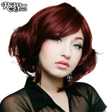 Cosplay Wigs USA™ <br> Boy Cut Short Shag - Burgundy -00521