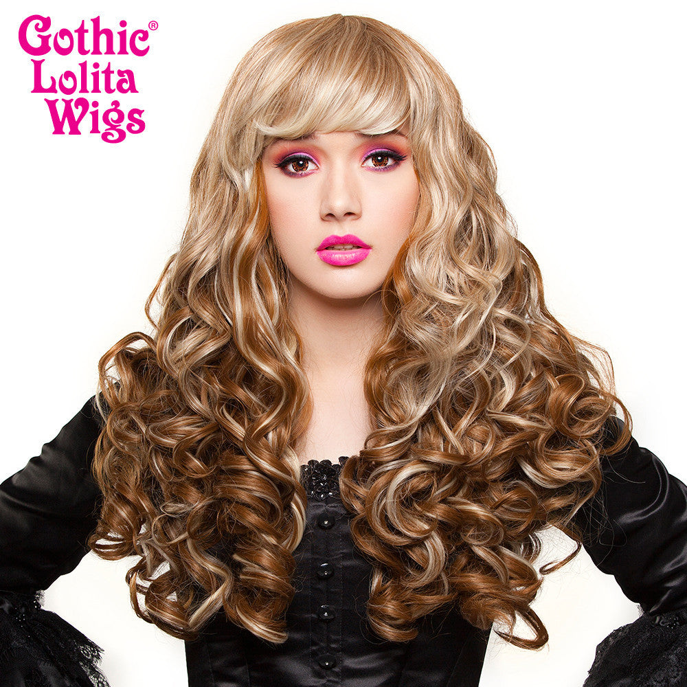 Gothic Lolita Wigs® <br> Spiraluxe 2™ Collection - Dark Blonde Blend  - 00720
