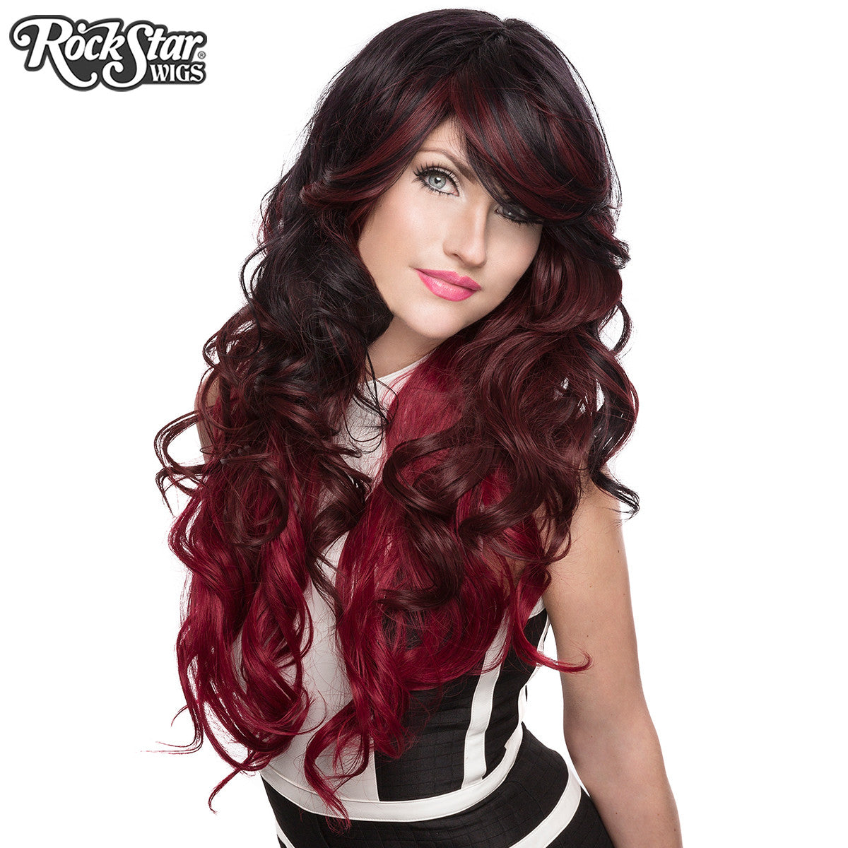 RockStar Wigs® <br> Triflect™ Collection - Midnight Flame-00226