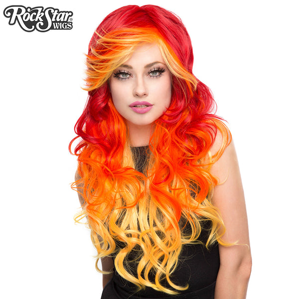 Rockstar Wigs 174 Triflect Collection Screaming Crimson