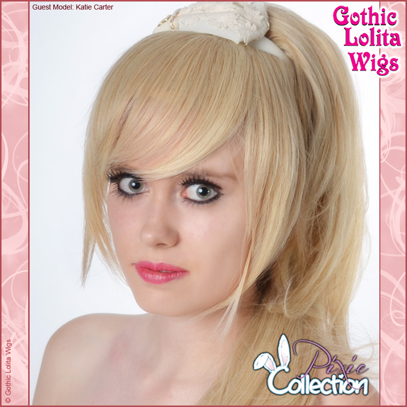Gothic Lolita Wigs® <br> Pixie™ Collection - Bangs 2 (Blonde Mix) -00071