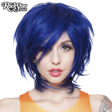 Cosplay Wigs USA™ <br> Boy Cut Long - Cobalt Blue -00275