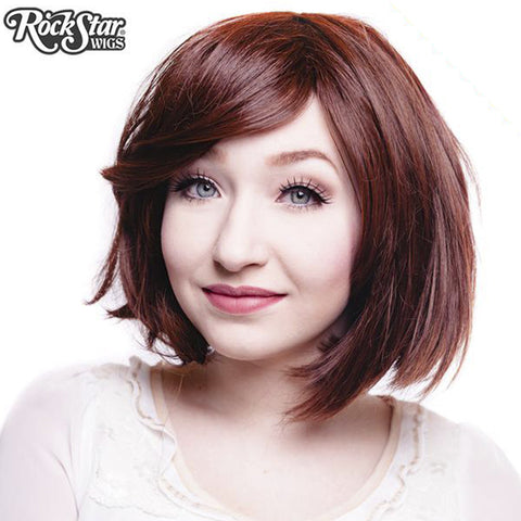 "RockStar Wigs® <br> Hologram 12"" - Chocolate Brown - 00730"