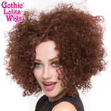 Lace Front Disco Diva  - Chocolate Brown -00755