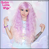 Gothic Lolita Wigs - Genuine Rhapsody Lavender to Pink Ombre Fade Mermaid Wig