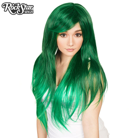 RockStar Wigs® <br> Ombre Alexa™ Collection - Forest Green Fade-00199