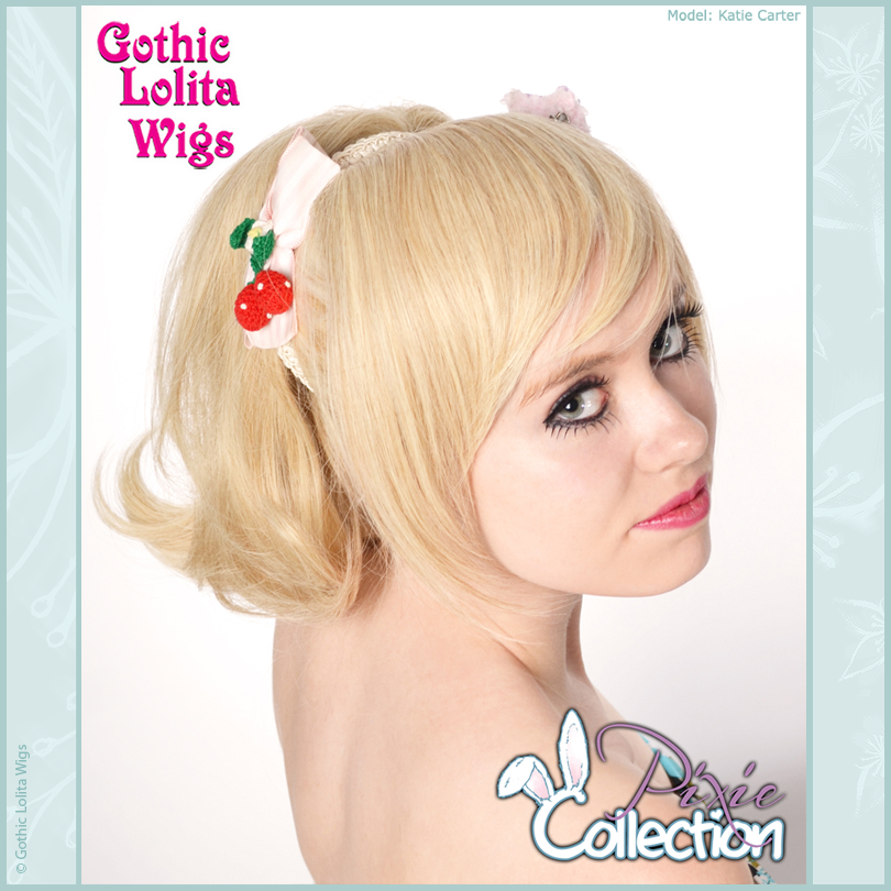 Gothic Lolita Wigs® <br> Pixie™ Collection - Ponytail 3 (Blonde Mix) -00094